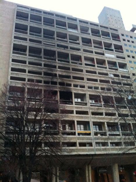 """Actu00: """"Feu éteint"""" à La Cité le Corbusier   Le Corbusier   Scoop.it"""