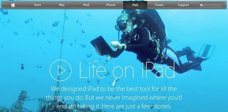 Apple Debuts New 'Life on iPad' Webpage, Documenting Ways iPad Improves People's Lives - MacRumors | iPad Apps for Middle School | Scoop.it