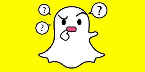 Mise à jour des conditions d'utilisation de Snapchat : Memories obligatoire, choix publicitaire... | Actualité Social Media : blogs & réseaux sociaux | Scoop.it