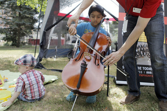 Library and art gallery put on an old-fashioned block party | LibraryLinks LiensBiblio | Scoop.it