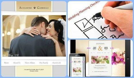Design a free wedding website with iPad App And Check List | iWedPlanner | wedding planner in usa  app | Scoop.it