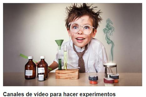 Canales de vídeo para hacer experimentos - Educación 3.0 | TAC i educació | Scoop.it