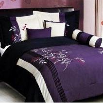 Black and Purple Bedding Sets | Bedroom Design Ideas | Scoop.it