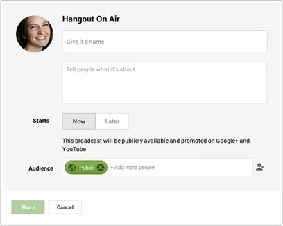 How to Host a Google Hangout On Air | | School Libraries | Scoop.it