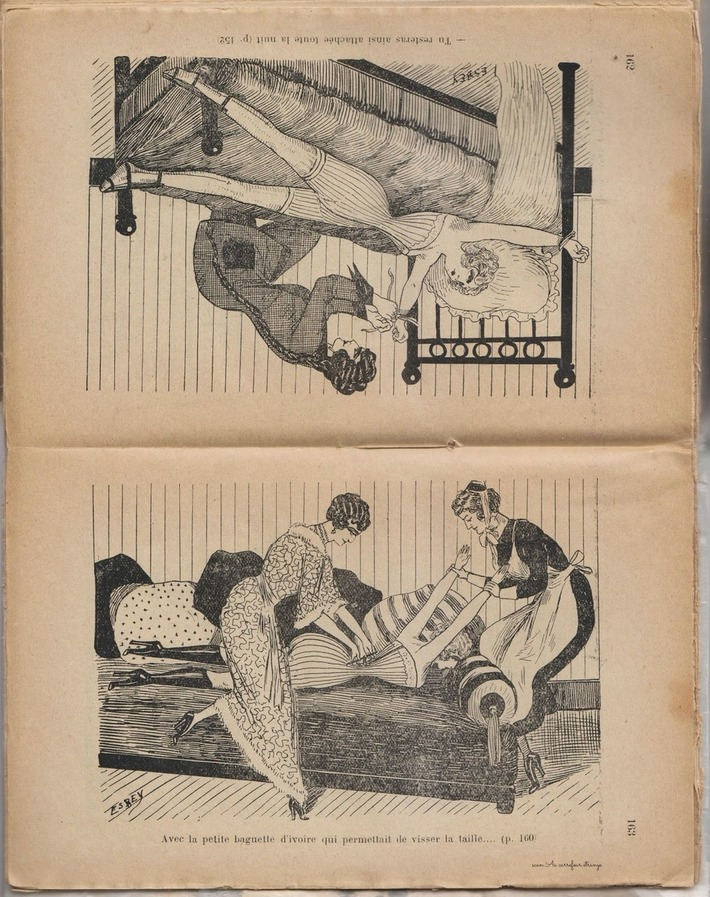 Scans of a very rare French fetish book from 1930. Art by Esbey | Sex History | Scoop.it