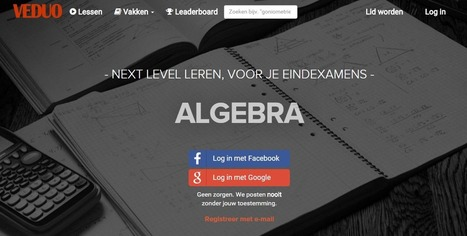 Veduo - De Beste Examen Uitlegvideo's op het Web | innovation in learning | Scoop.it