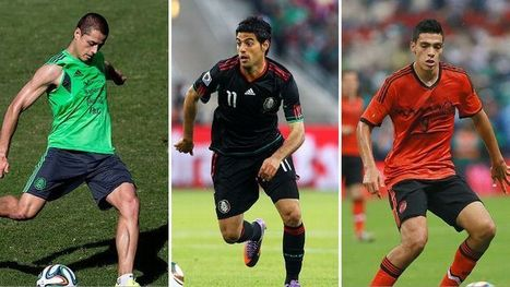 Mexico's strikers are the keys to Miguel Herrera's Russian dream | free-soccer tournaments playing around the globe | Scoop.it