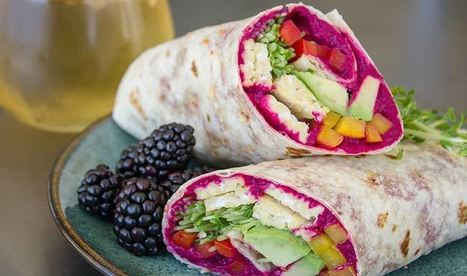 Vegan Rainbow Wrap | Trader Joe's | My Vegan recipes | Scoop.it