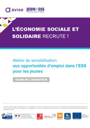 Kit de sensibilisation aux opportunités d'emploi dans l'ESS pour les jeunes   Avise.org   Tous pour un : le DD au coeur de notre société   Scoop.it