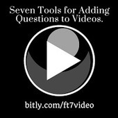 Free Technology for Teachers: 7 Tools for Adding Questions and Notes to Videos | Educational Technology in Higher Education | Scoop.it