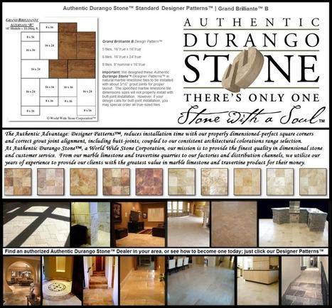 4 of 13 Arizona Travertine Tile Floor Design Patterns | Natural Stone Travertine Tiles | Scoop.it