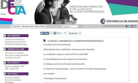 Conférence à la CCI Paris Ile de France | Formation Innovation | DFCTA | Scoop.it