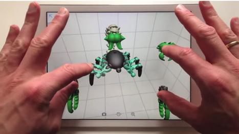 Applications de modélisation 3D pour tablette avec impression | | Réalité augmentée, technologies, usages pédagogiques | Scoop.it