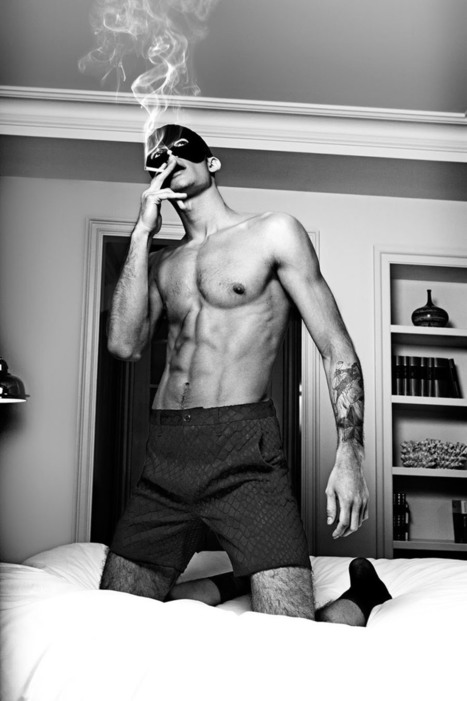Andrey Zakharov for Valstrom Magazine by Neil O'Keeffe | Daily Male Models | Male Models Smoker | Scoop.it