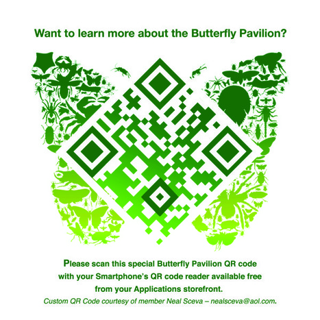 Custom QR Code Butterfly | QRdressCode | Scoop.it