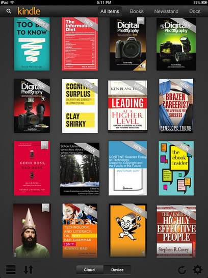 Kindle is the king of mobile reading platforms, but iBooks is catching up - fast | Literacy in the algorithmic medium | Scoop.it
