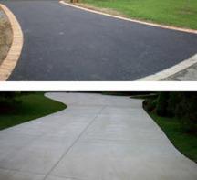 Is Concrete or Asphalt Better for the Driveway? | Concrete Driveway Marietta | Scoop.it