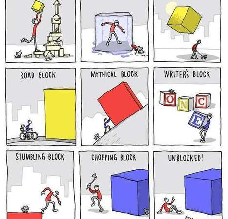 12 Creative Blocks Holding Back Your Writing | DashBurst | Infographic news | Scoop.it