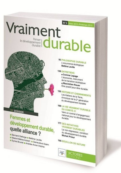 Vraiment durable, revue scientifique interdisciplinaire du ... - Cdurable.info | Environnement | Scoop.it