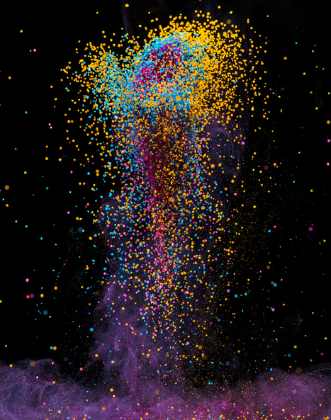 The art of science: Stunning, psychedelic images from Fabian Oefner | TED Blog | Integrating Art and Science | Scoop.it