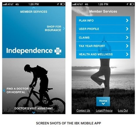 Health Insurance Company Enter The Mobile App Market   mHealth- Advances, Knowledge and Patient Engagement   Scoop.it