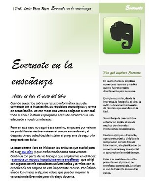 Evernote en la enseñanza. Un libro con 33 ideas sobre su uso. | Educación 2.0 | Scoop.it