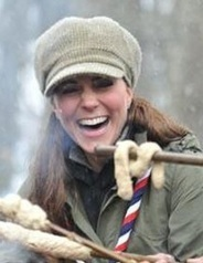 Kate looking very cute dressed as a Scout! | The Cambridges: Kate & William | Royals | Scoop.it