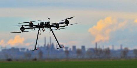 Comment le drone s'est imposé dans le paysage industriel - La Tribune.fr   Geeks   Scoop.it