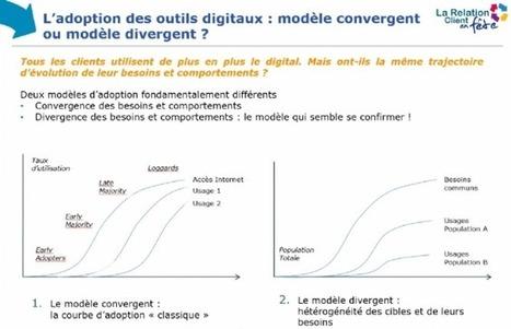 3/4 des Français restent distants vis-à-vis du digital | RelationClients | Scoop.it