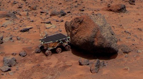 """Martian """"Rust"""" Could Possibly Point To Past Water 