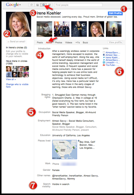 10 Steps To Create An Awesome Google+ Profile   Personal Learning Network   Scoop.it