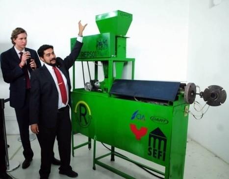 La primera máquina mexicana para reciclar poliestireno expandido — Noticias de la Ciencia y la Tecnología (Amazings®  / NCYT®) | Engineering news | Scoop.it