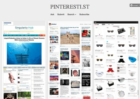 A Curated Collection of Pinterest-Like Web Sites: Pinteresti.st | Mobile Websites vs Mobile Apps | Scoop.it