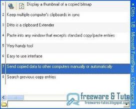 Ditto : Un gestionnaire de presse-papiers avancé pour votre ordinateur | Freewares | Scoop.it