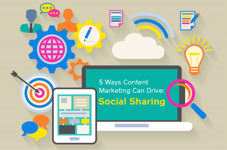 5 Ways Content Marketing Can Drive: Social Sharing | Social Media Useful Info | Scoop.it