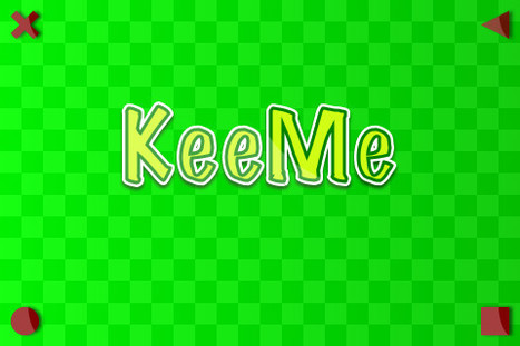 The KeeMe app.. Green screen with tracking marks   Learn How to Video Edit   Scoop.it