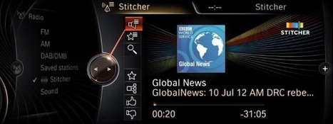 Newest Personalized Radio App for BMW and MINI: Stitcher Smart Radio | Radio 2.0 (En & Fr) | Scoop.it