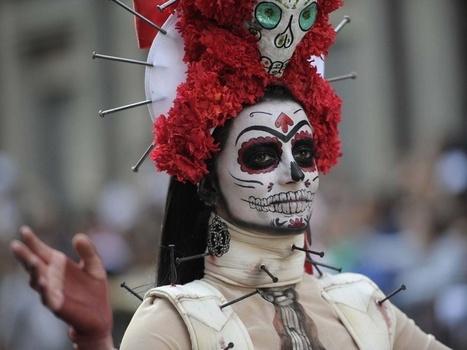 PHOTOS. Mexico : une folle et inspirante parade des morts | Newsletter @ Idemec | Scoop.it