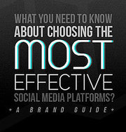 Choose The Best Social Media Platforms For Your Brand [Infographic] | ecommerce & career | Scoop.it