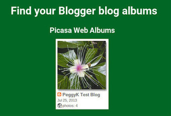 Google+ Integration Tips and Tricks: Find your Blogger blog images | GooglePlus Expertise | Scoop.it
