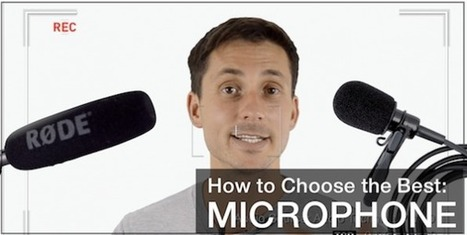 How to Choose the BEST Microphone for Your Videos - James Wedmore Dot Com | YouTube Marketing & Online Video Awesomeness for Small Business Owners! | Technology in Today's Classroom | Scoop.it