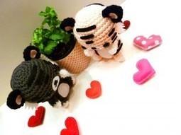 weloveamigurumi: Valentine's Day Tiger Amigurumi | The Hook Ninja Herald | Scoop.it