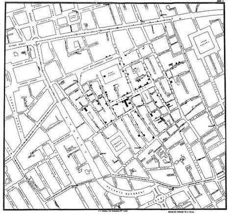 The Ghost Map: Hard Lessons in Epidemiology from Victorian London | Geography Stuff | Scoop.it
