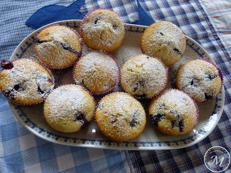Vom Regen und leckeren Heidelbeer-Muffins - Wir vom Ende der ... | Brownies, Muffins, Cheesecake & andere Leckereien | Scoop.it