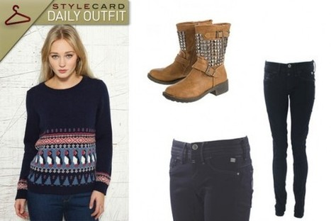 Daily Outfit: Festive Cheer | StyleCard Fashion Portal | StyleCard Fashion | Scoop.it