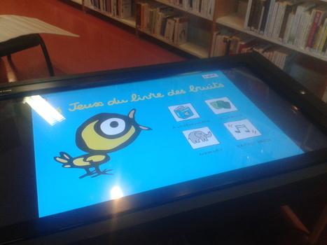 L'expérience de la tablette XXL en bibliothèque   Les tablettes numériques   Scoop.it