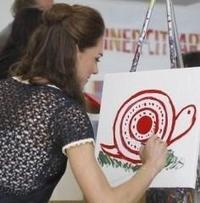 Kate Middleton Champions Art Therapy - ArtLyst | Celebrity Charity | Scoop.it