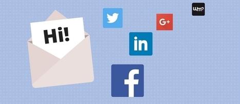 Come integrare l'email marketing ai social | Social Media Marketing | Scoop.it