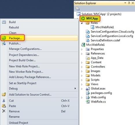 Developing ASP.NET MVC 4 Application and Deploying to Windows Azure Cloud | AspNet MVC | Scoop.it