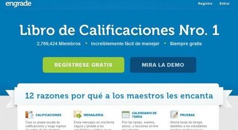 Engrade, la perfecta herramienta para profesores, ya está en español | Engrade en la Eduación | Scoop.it